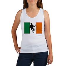 Lacrosse Flag IRock Ireland Tank Top