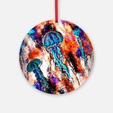 Jellyfish Jump Electric Ornament (Round)