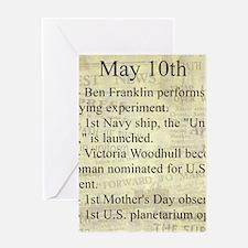 May 10th Greeting Cards