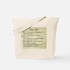 May 9th Tote Bag