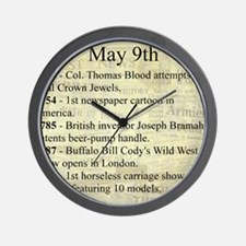 May 9th Wall Clock