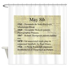 May 8th Shower Curtain