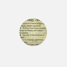 May 7th Mini Button