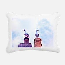The Lookouts Rectangular Canvas Pillow