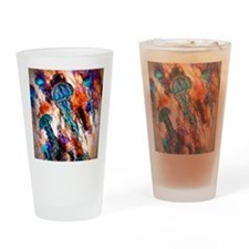 Jellyfish Electric Jump Drinking Glass