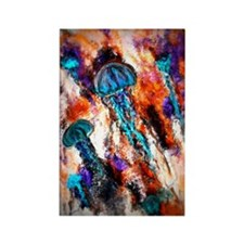 Jellyfish Electric Jump Rectangle Magnet