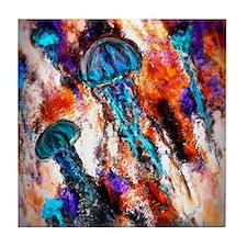 Jellyfish Electric Jump Tile Coaster