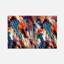 Jellyfish Jump Electric Rectangle Magnet