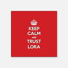 Trust Lora Sticker