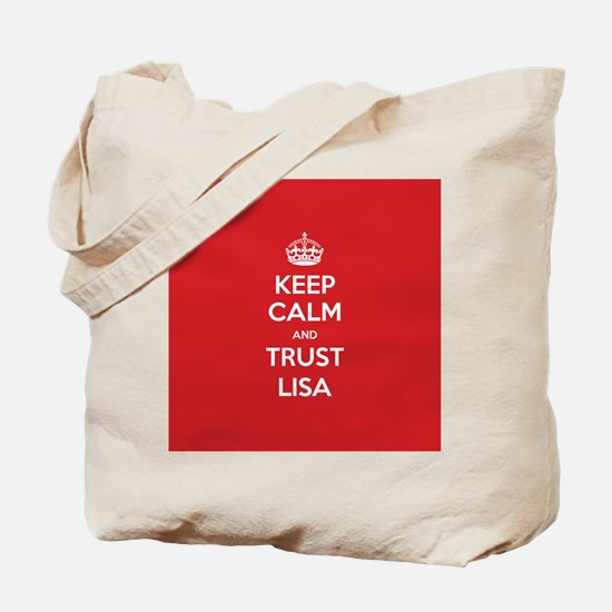 Trust Lisa Tote Bag