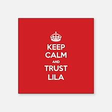 Trust Lila Sticker