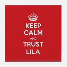 Trust Lila Tile Coaster