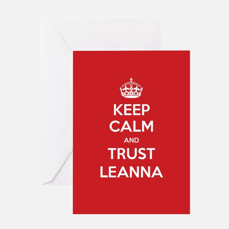 Trust Leanna Greeting Cards