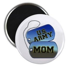 U.S. Army Mom Dog Tags Magnet