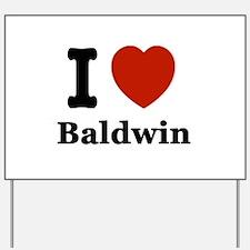 I love Balin Yard Sign