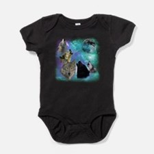 Wolves Coven Emeral night Baby Bodysuit
