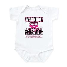 Biker Warning Infant Bodysuit