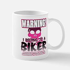 Biker Warning Mug