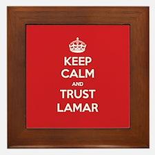 Trust Lamar Framed Tile