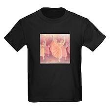 Waltz of the Flowers Kids Black T-Shirt