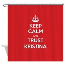 Trust Kristina Shower Curtain