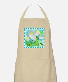 Daisies and Birds 1 Apron