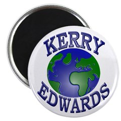 Kerry-Edwards for the Earth (Magnet)