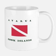 Avarua Cook Islands Dive Mugs