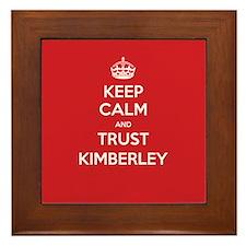 Trust Kimberley Framed Tile