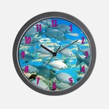 Gray Chub Fish Wall Clock