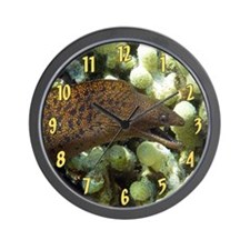 Moray Eel Wall Clock