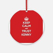 Trust Kenny Ornament (Round)
