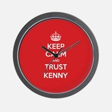 Trust Kenny Wall Clock