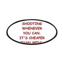 trap shooting Patches