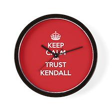Trust Kendall Wall Clock