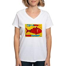 Orange Fish Shirt