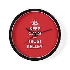 Trust Kelley Wall Clock