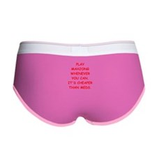 MAHJONG Women's Boy Brief