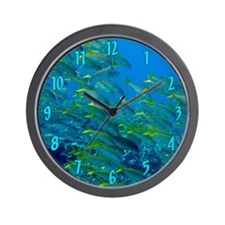 Yellowfin Goatfish Wall Clock