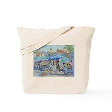 SHOPPING IN HAITI Tote Bag
