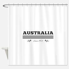 AUSTRALIA since 1901 Shower Curtain