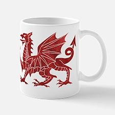 Welsh Red Dragon Mugs