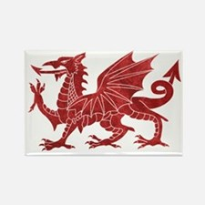 Welsh Red Dragon Magnets