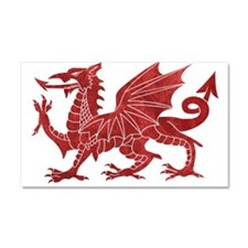 Welsh Red Dragon Car Magnet 20 x 12