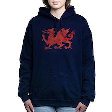 Welsh Red Dragon Hooded Sweatshirt