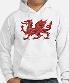 Welsh Red Dragon Jumper Hoody