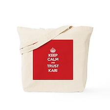 Trust Kari Tote Bag