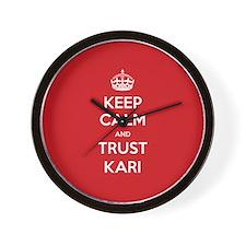 Trust Kari Wall Clock