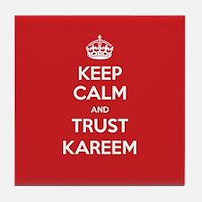 Trust Kareem Tile Coaster