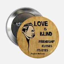 """Love is Blind 2.25"""" Button"""